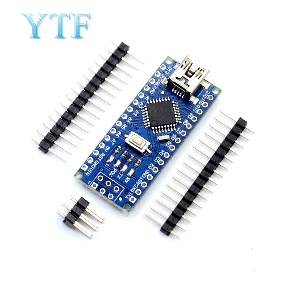 1PCS Nano 3.0 Controller Compatible For Arduino Nano CH340 USB Driver NO CABLE