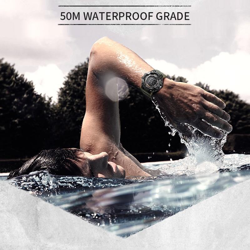 שעון ספורט צבאי עמיד במים 3