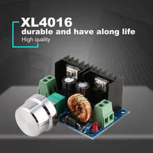 XL4016E1 DC-DC понижающий преобразователь Питание модуль 4 V-40 V Регулируемый понижающий шин Напряжение регулятор Максимальная 8A высокое Мощность