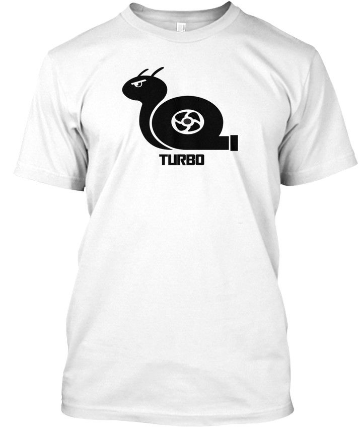 A Team Shirt Fashion Turbo Snail Tagless Tee Crew Neck Short-Sleeve T Shirts For Men