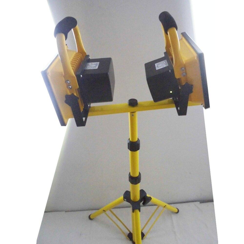 Светодиодный рабочий светильник 40 Вт, перезаряжаемый кемпинговый светильник
