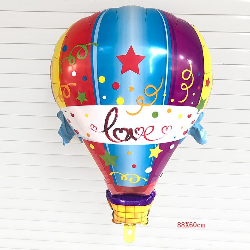 NEW 1PC Hot Air Balloon Aluminum Foil Helium Balloon
