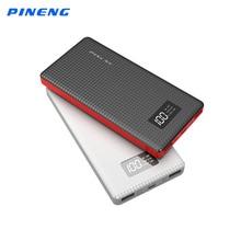 Оригинальный Новый Pineng Power Bank 10000 мАч Литий-Полимерный Аккумулятор Портативный Зарядное Устройство ЖК-Дисплей Dual USB Power Bank для смартфон PN963
