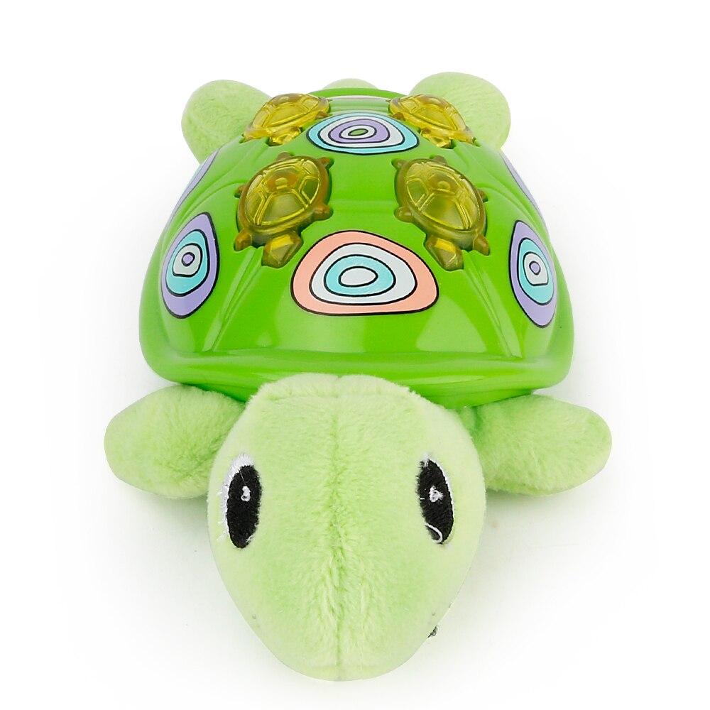 Мягкие Животные плюшевые игрушки черепаха игрушки куклы спальный музыкальные игрушки с М ...