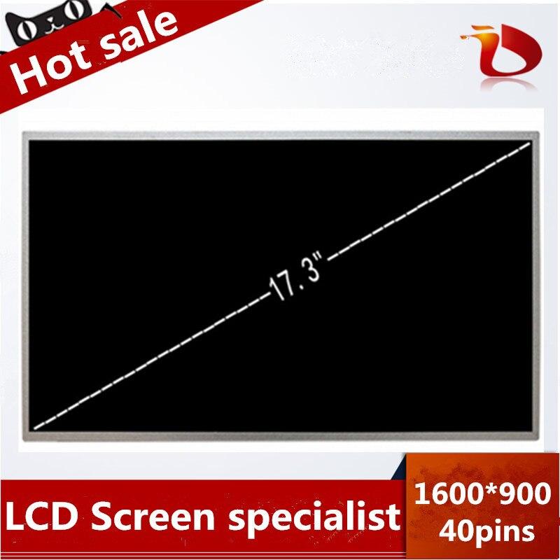 D'origine A + 17.3 ''Pour Lenovo IdeaPad G710 G780 G700 De Remplacement Pour ordinateur portable led écran d'affichage À CRISTAUX LIQUIDES D'ordinateur Portable matrice 1600*900 40pin