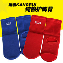 2017 hotsale Boxing instep guard for adult child Professional MMA ankle support TKD muay thai sport socks foot protector pads