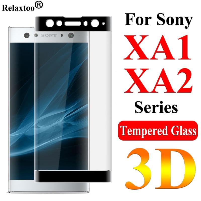 Protective Glass On The For Sony Xperia XA2 XA1 Plus Ultra Tremp Screen Protector Soni XA2plus XA1plus Tempered Glas 9H Film