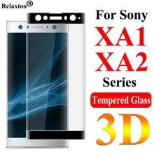 Szkło ochronne na Sony Xperia XA2 XA1 Plus Ultra Tremp ochraniacz ekranu Soni XA2plus XA1plus szkło hartowane 9H Film