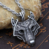 Viking Wolf Necklace 1