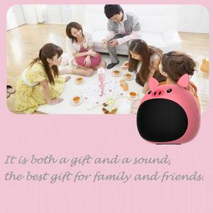 Image 3 - ZEALOT S28 True Wireless Stereo Mini Bluetooth Animal Wireless Speaker For Kids waterproof, voice prompt, card, radio,