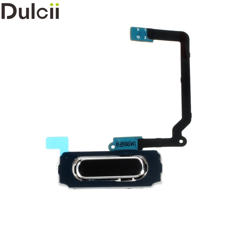 Dulcii Mobile Phone Parts for Galaxy S5 Mini G800 OEM Home Button with Flex Cable for Samsung Galaxy S5 Mini G800 - Black