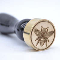 Brass Sealing Wax Stamp Bee Designs Wax Stamp For Sealing Envelopes Homemade For DIY