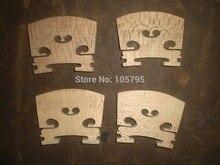 4 PCs Quality Maple Violin Bridge 4/4 Violin parts China wood