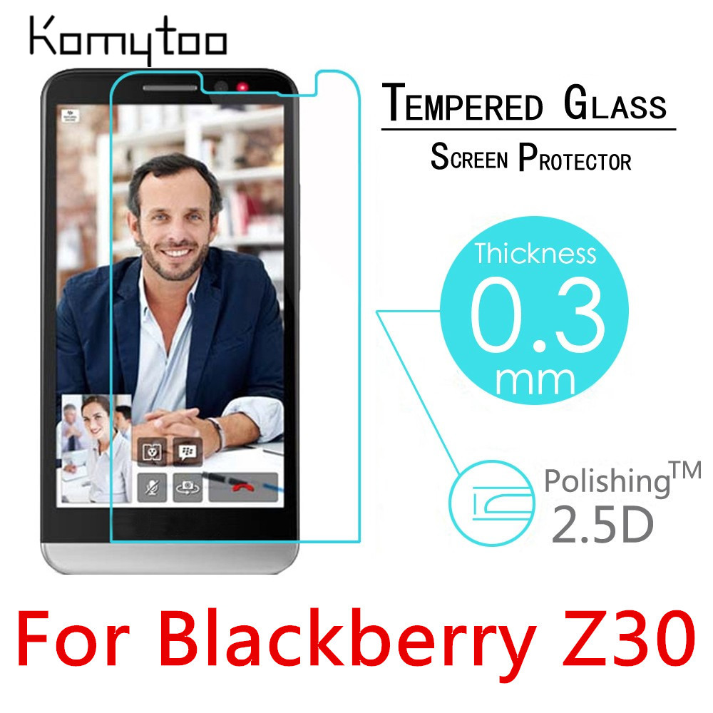 Z30 Premium 0.3mm 9H 2.5D Explosion-Proof Toughened Tempered Glass For Blackberry Z30 LCD Film HD Screen Protector Cover Guard