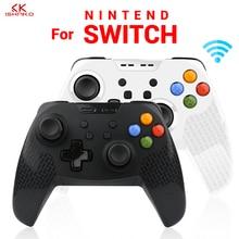K ISHAKO Bluetooth Gamepad Wireless Pro Game pad Joystick Remote Controller for Nintend Switch Console Gamepads 1pcs or 2pcs все цены