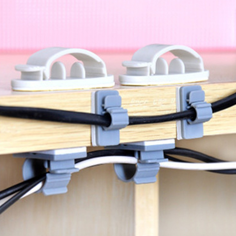 Cord Holder Wall: 10 PCS USB Cable Organizer Protector De Cabo Wire Holder