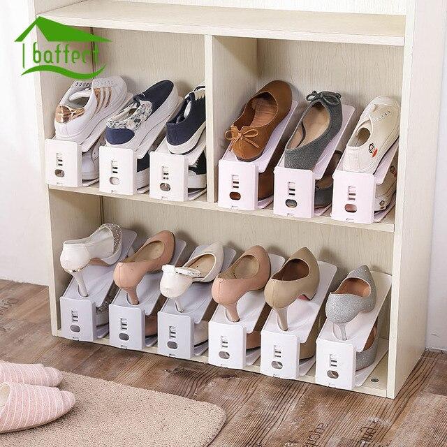 Perfect 2018 New Shoe Racks Plastic Double Shoe Holder Storage Shoes Rack Living  Room Convenient Shoebox Shoes