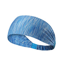 CRAZY SALE Elastic Sport Headband Fitness Yoga Sweatband Outdoor Gym Running Tennis Basketball Wide Hair Bands Athletic Headband elastic lacework wide sport headband