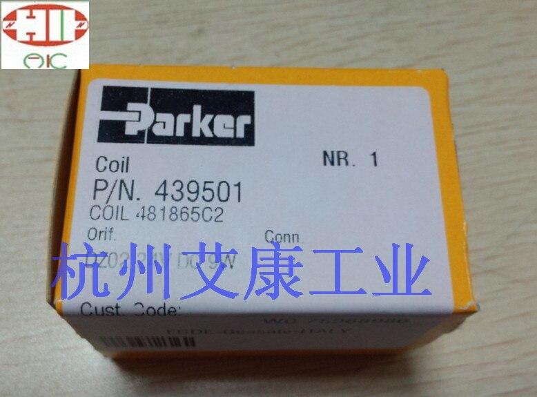 481865c2 d5b f 24v parker - Genuine  solenoid valve coil 439501 or 439502  or 481865C2 or  4818653D
