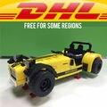 Yile006 CATERHAM SEVEN modelo Blocos de Construção Compatível legoe 21307 LEPINs 620R 21008 Brinquedos Do Carro de Corrida para crianças