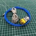 0 4 мм сопло все металлические CR-10 Hotend комплект с 1 метровой синей трубкой для DIY Creality 3D принтера