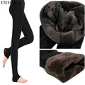 Brand New Women's Autumn and Winter Legging Thermal Trousers Step Pant Elastic With High Waist Plus Velvet Warm Thickening