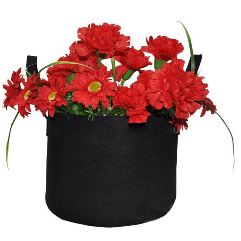 Hot 7sizes black thickening fabric pot plant pouch root container hot 7sizes black thickening fabric pot plant pouch root container grow bag tools garden pots planters supplies in grow bags from home garden on workwithnaturefo