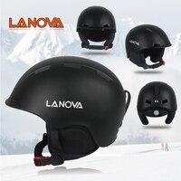 Lanova Ski Helmet Integrally Molded Men Women Snowboard Skating Skateboard Skiing Helmet