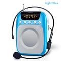 Shidu s358 altifalante com microfone de voz amplificador booster megafone speaker para guia ensino posto de promoção de vendas