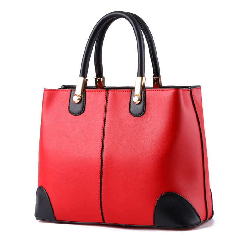 red and black handbags for women