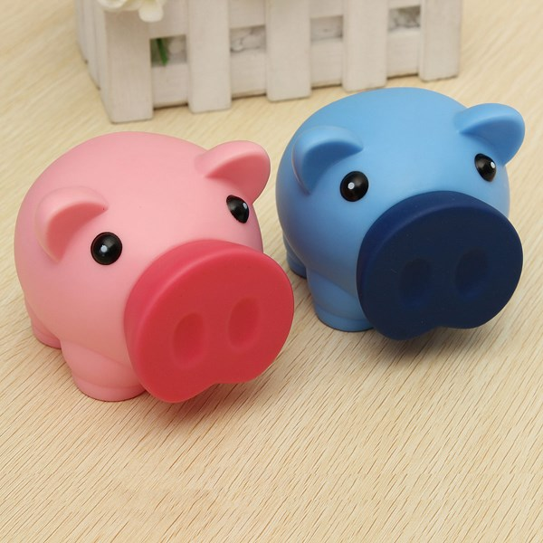 Plastic Piggy Bank For Kids Interior Design Ideas