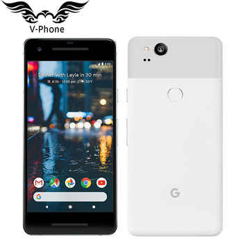 Brand NEW 5.0'' Google Pixel 2 US Version 4GB 128GB Smartphone Snapdragon 835 Octa Core Fingerprint 4G Android Mobile phone