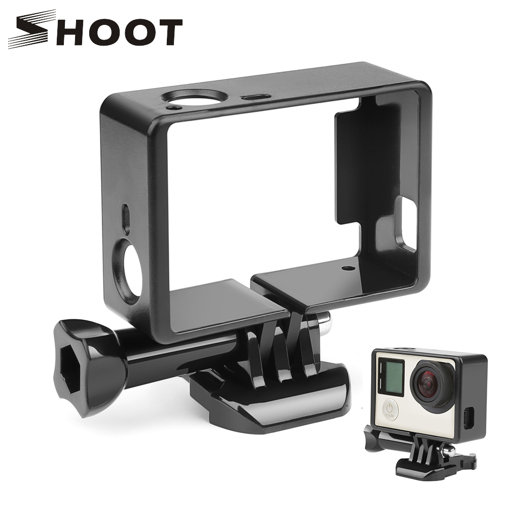 SHOOT Standard Protective Border Frame for Gopro Hero 4 3+ Black 3 Camera Case Protector Mount For Go Pro 3+ 4 Camera Accessory image