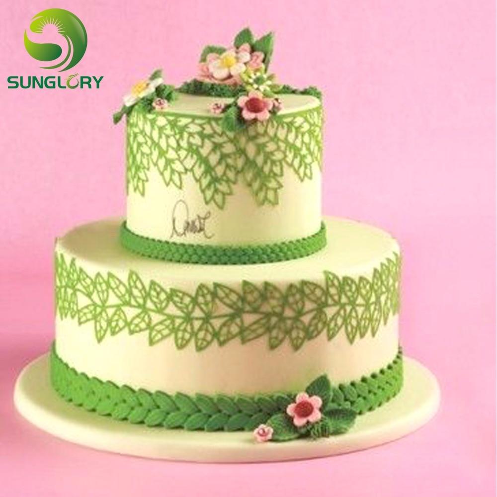 Kitchen Leaf Fontant Cake Decorating Tools Ferramentas Bolo Cake ...