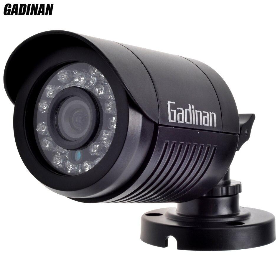 GADINAN AHDH 1080 p Mini Caméra IP66 Étanche ABS Boîtier En Plastique Intérieur Extérieur Surveillance Caméra De Sécurité XM320 + F02
