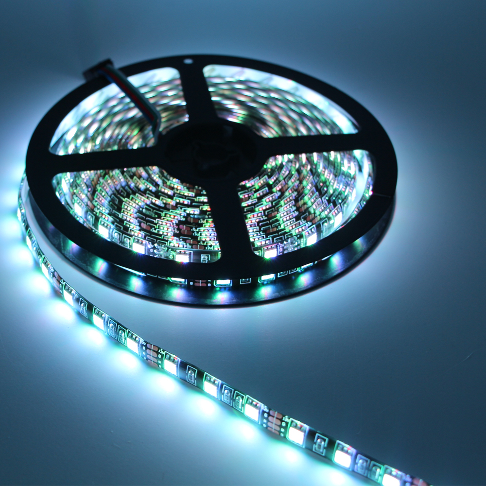 Black PCB LED Strip 5050 IP65/non Waterproof DC12V 60LED/m