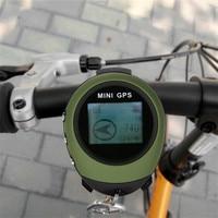 Mini Waterproof GPS Tracker Tracking Device Travel Portable Keychain Locator Pathfinding Motorcycle Vehicle Handheld Universal