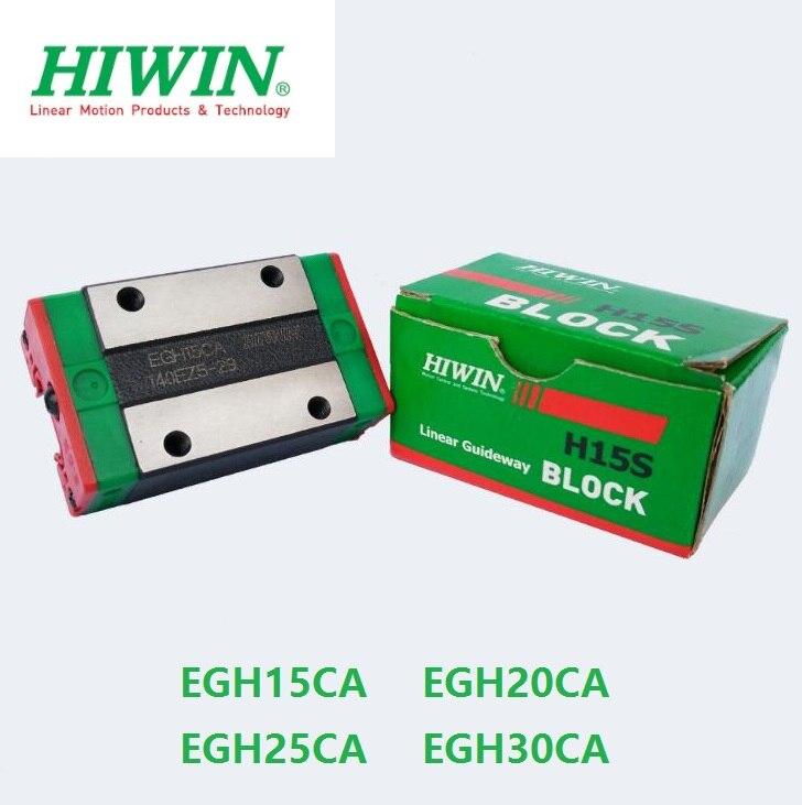 2pcs/lot 100% original HIWIN EGH15CA EGH20CA EGH25CA EGH30CA linear narrow block for EGR linear guide rail  2pcs/lot 100% original HIWIN EGH15CA EGH20CA EGH25CA EGH30CA linear narrow block for EGR linear guide rail