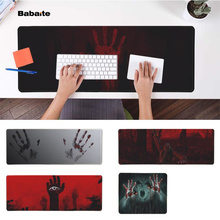 Babaite Custom Skin Ghost blood  Office Mice Gamer Soft Mouse Pad Free Shipping Large Keyboards Mat