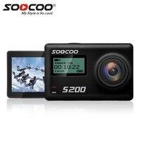 SOOCOO S200 Sport Actie Camera Ultra HD 4 K met WiFi Gryo Spraakbesturing Externe Mic GPS 2.45 Touch LCD Screen