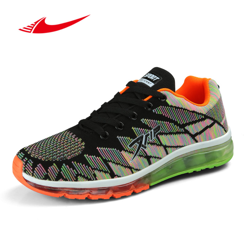 Beita Mesh Men Women Running Shoes Lovers Air Cushion Sneakers Men Jogging Athletics Shoes Outdoor Colorful Couple Trainers ...