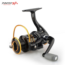 NEW Spinning Fishing Reel 1000-7000 5.2:1 Left/Right Handle Fishing Reel Durable Metal Line Cup Fishing Reel Anti-skid Handle