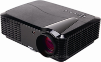Home Cinema Theater HD LED Projector Real 720P Digital Video Beamer With USB PC AV TV