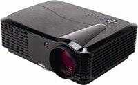 Home Theater HD Cinema LED chiếu bất 720 p kỹ thuật số video Beamer với USB PC AV TV VGA HDMI phù hợp với cho máy tính DVD WII Xbox