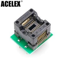 SOP16 к DIP16 SOP16 отложным воротником DIP16 SOIC16 к DIP16 IC гнездо программиста адаптер гнездо 150mil