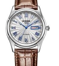 2016 Швейцарский Наручные Часы Бингер мужчины механическая рука ветер сапфир полный нержавеющей стали часы мужчины Люксовый бренд наручные часы