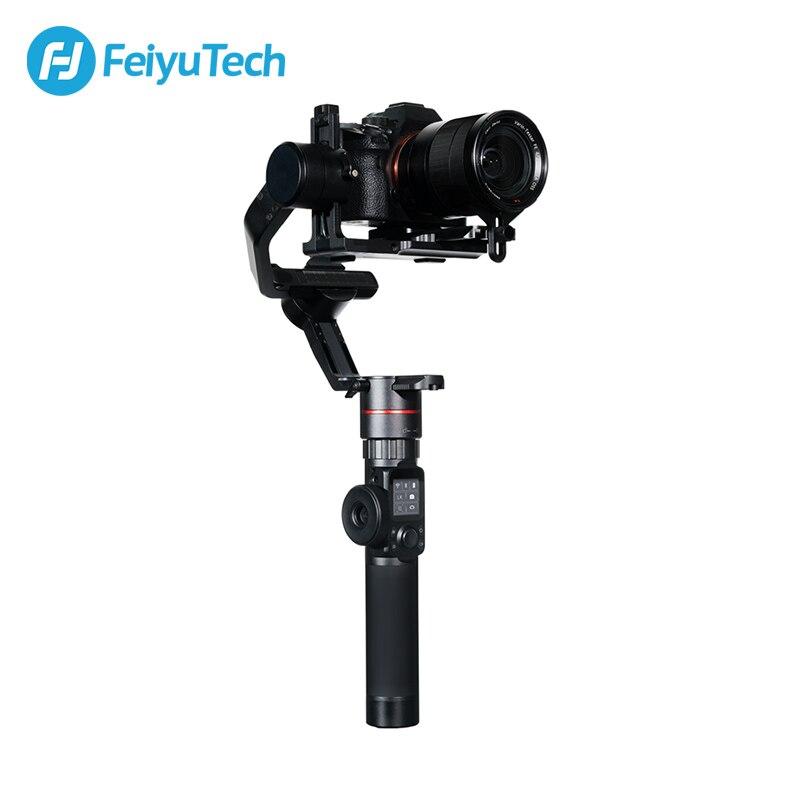 FeiyuTech AK2000 3-Axe Caméra Stabilisateur Cardan avec Bague de Mise Au Point pour Sony Canon 5D Panasonic GH5 Nikon 5D 2.8 kg Charge Utile Feiyu