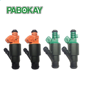 4 pieces x ORIGINAL Fuel Injector For 95-02 Kia Sportage 2.0 two green 0280150502 and orange 0280150504(China)