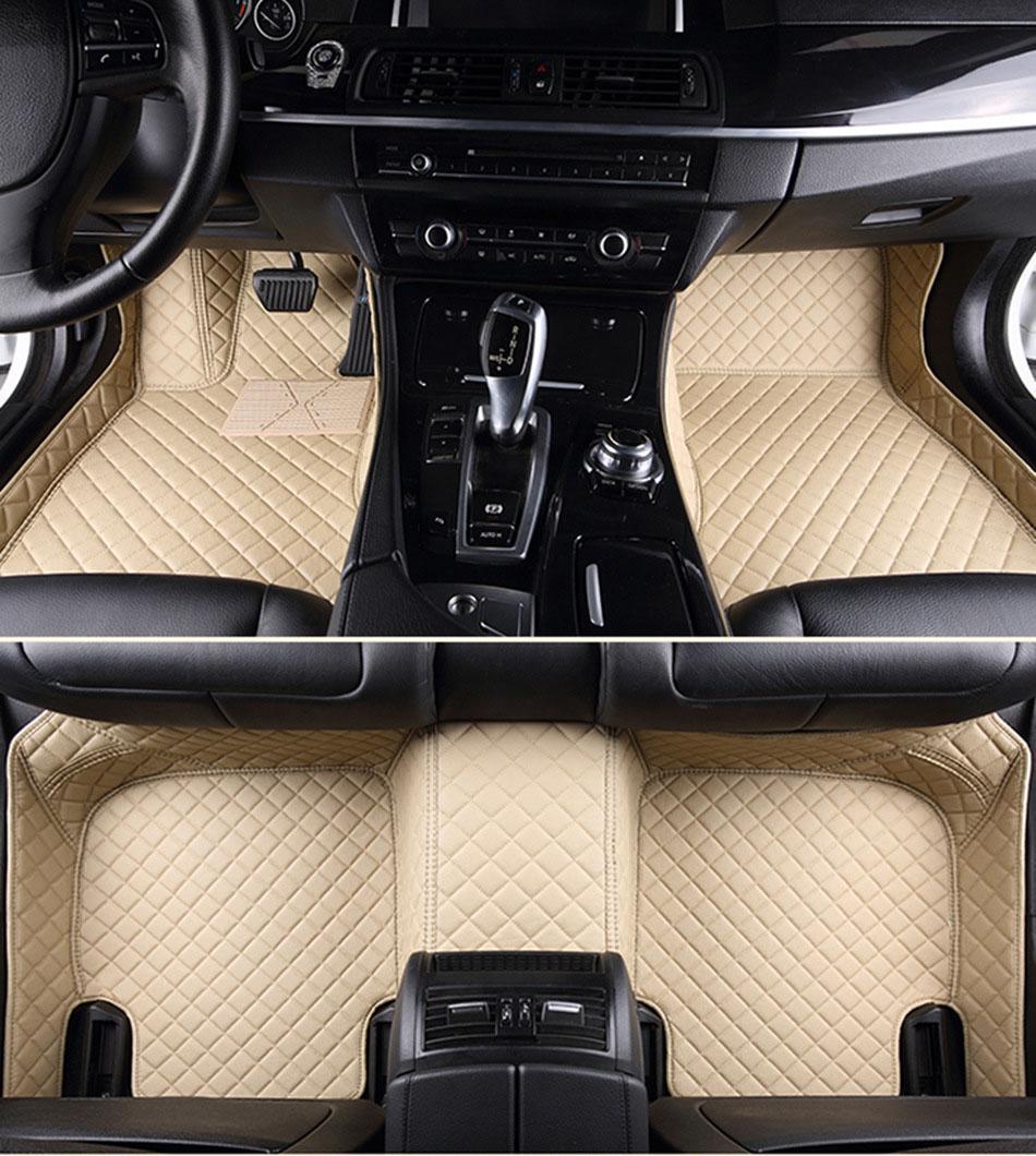 car floor mats case for KIA K2 K3 K4 Cerato Sportage Optima Sorento Carnival carnival rio ceed car styling veichle carpet