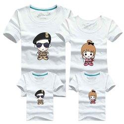Family matching outfits 2016 men t shirt korean cotton blue harajuku cartoon police t shirt brand.jpg 250x250